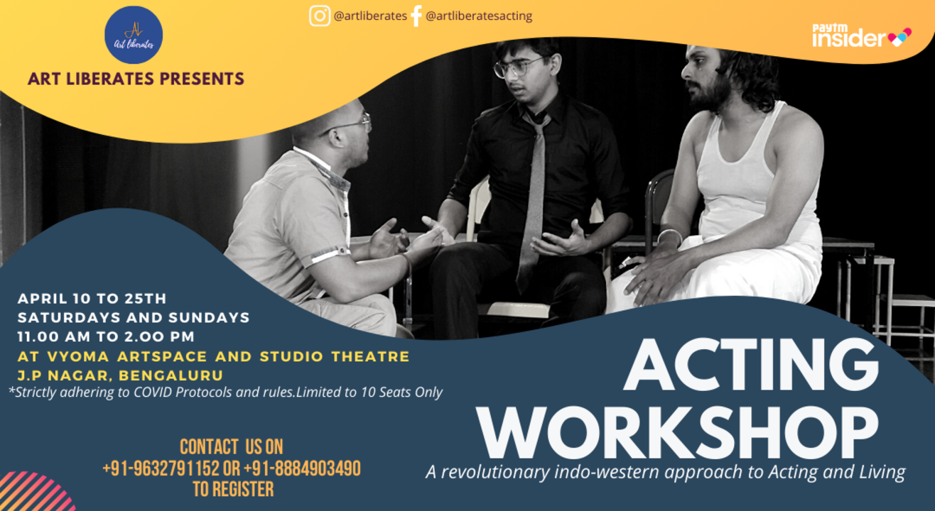 Acting Workshop in Bangalore