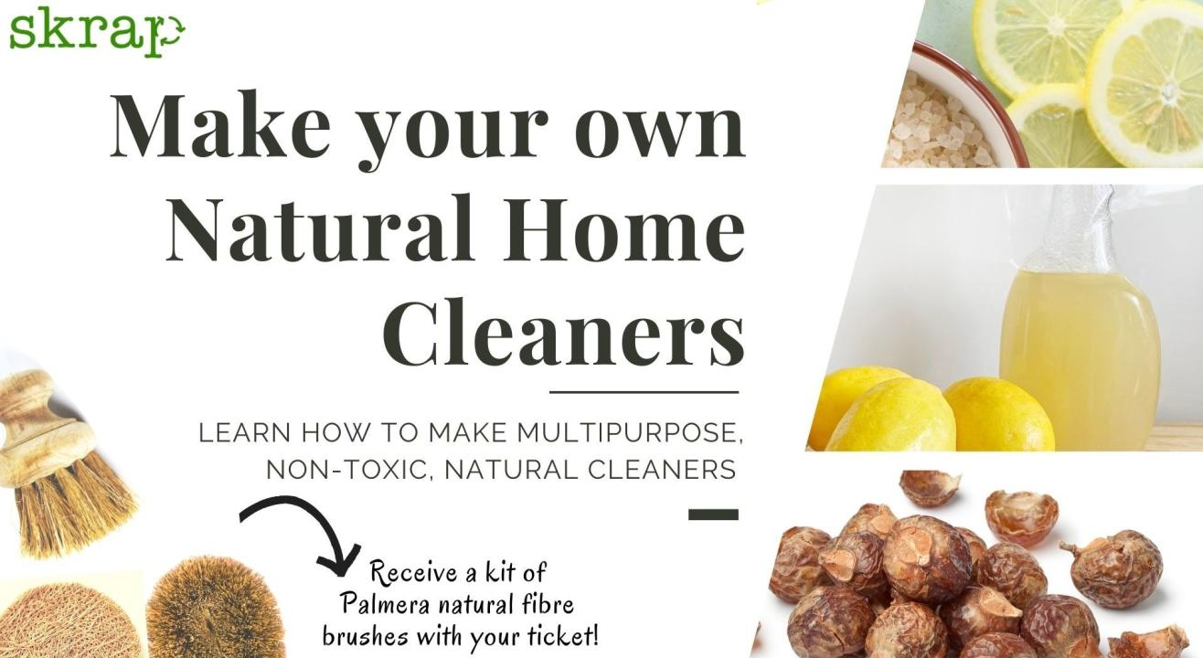 Make your own Natural Home Cleaners
