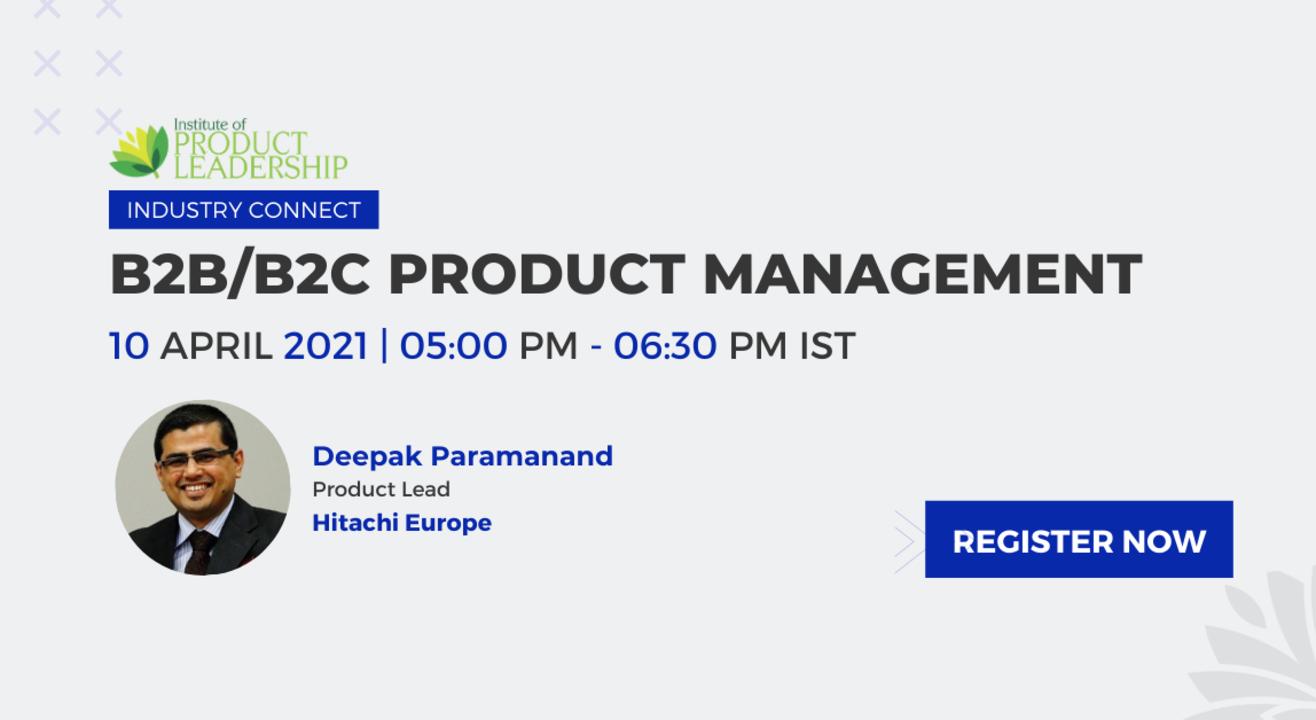 B2B/B2C Product Management