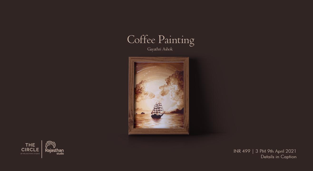 Coffee Painting Workshop by Rajasthan Studio