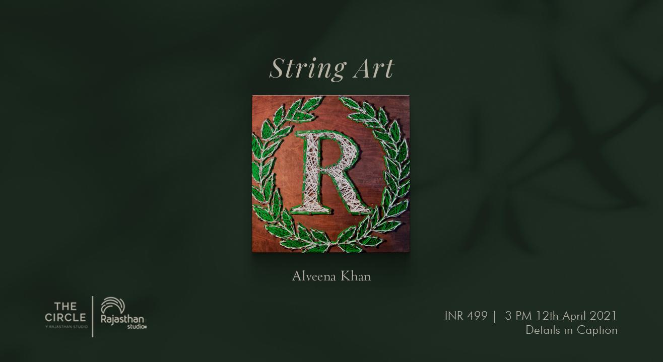 String Art Workshop by Rajasthan Studio