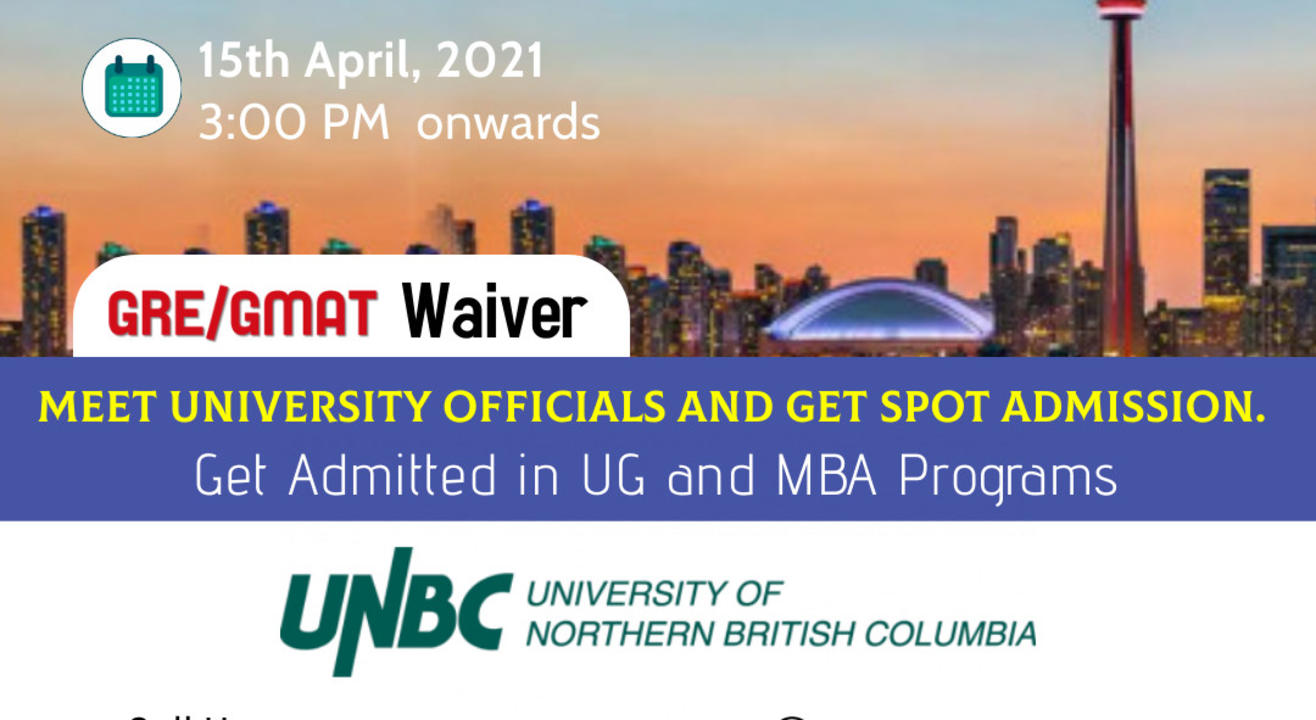 University of Northern British Columbia - SPOT Admission - Canada