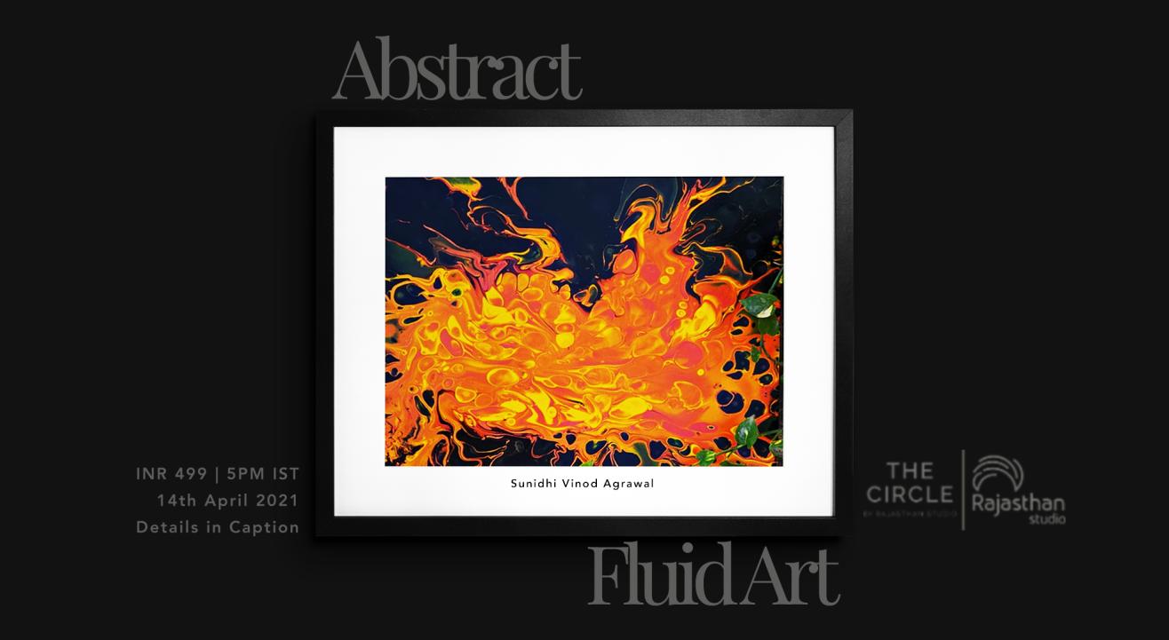 Abstract Fluid Art Workshop by Rajasthan Studio