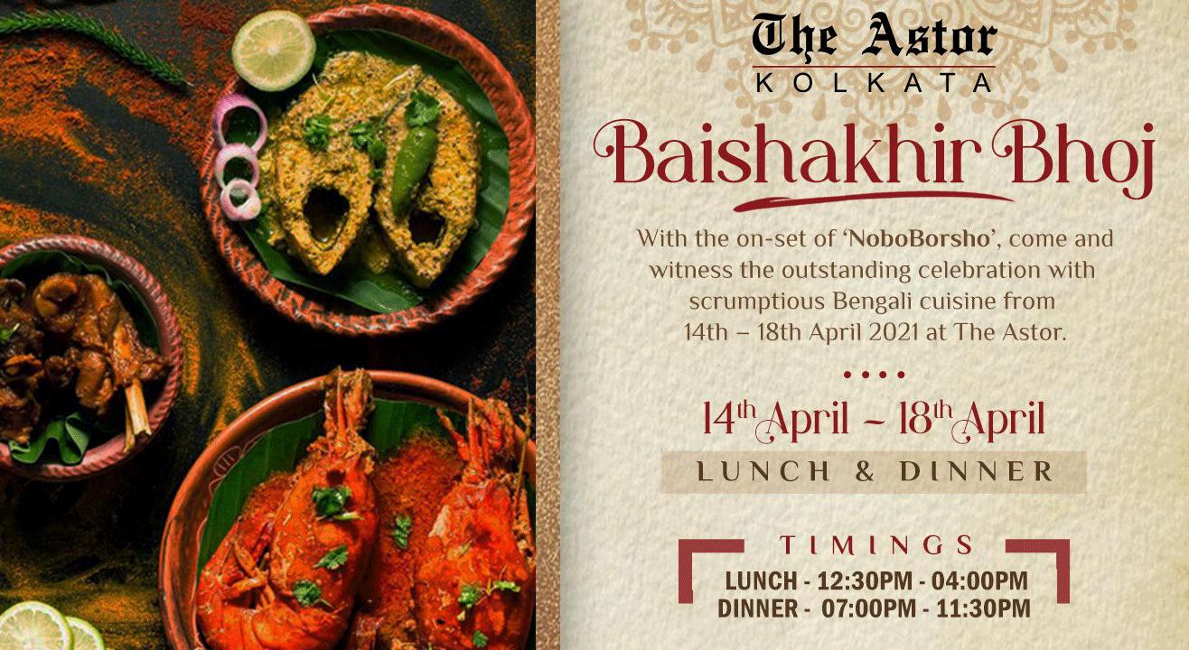 Baishakhir Bhoj @ The Astor, Kolkata
