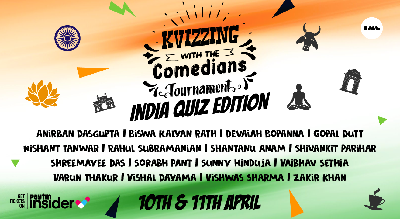 KVizzing With The Comedians - India Quiz Edition