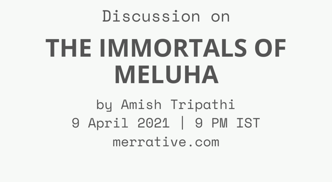 Book Discussion: The Immortals of Meluha by Amish Tripathi