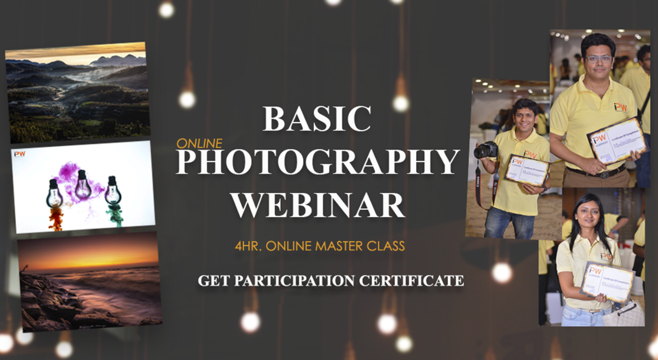 Basic Photography Webinar-A Layman Approach by IPW