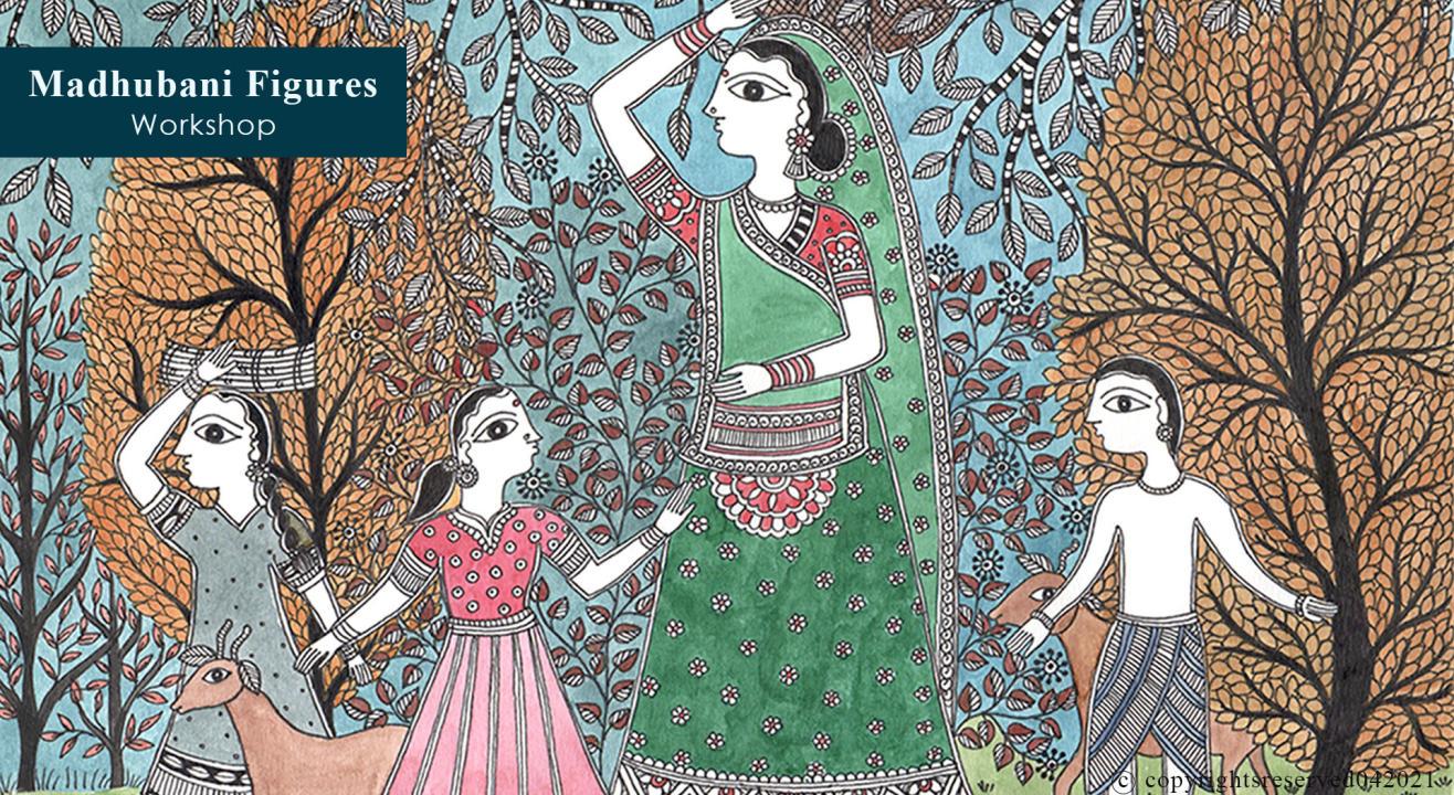 Madhubani Figures Workshop