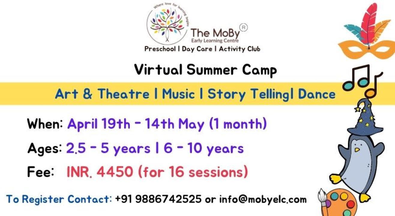 Virtual Summer Camp (2.5 - 10 years)