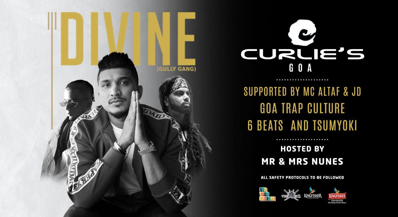DIVINE @ Curlies Goa