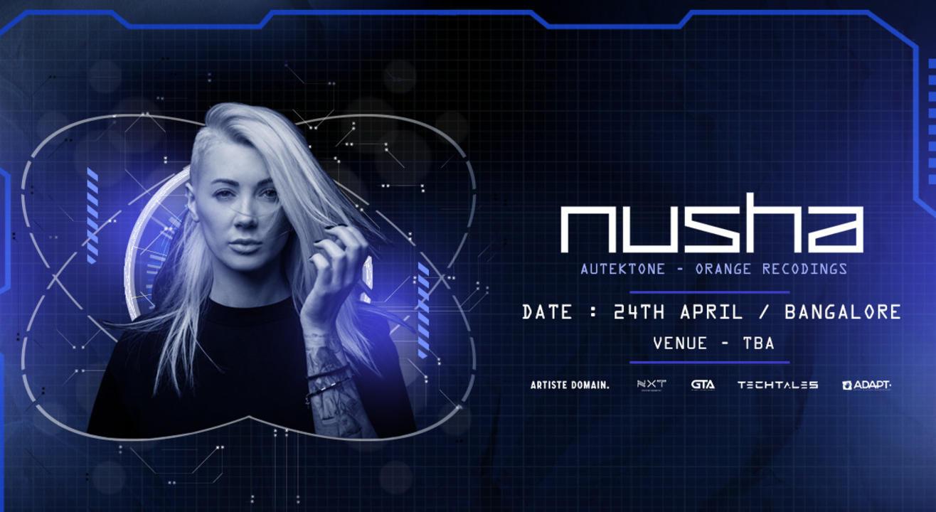 NUSHA LIVE IN BANGALORE,24TH APRIL