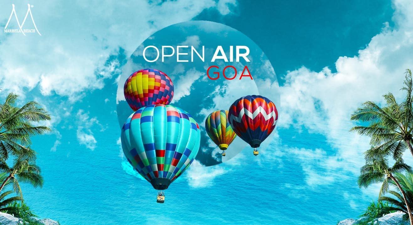 Hot Air Balloon Party | Open Air GOA