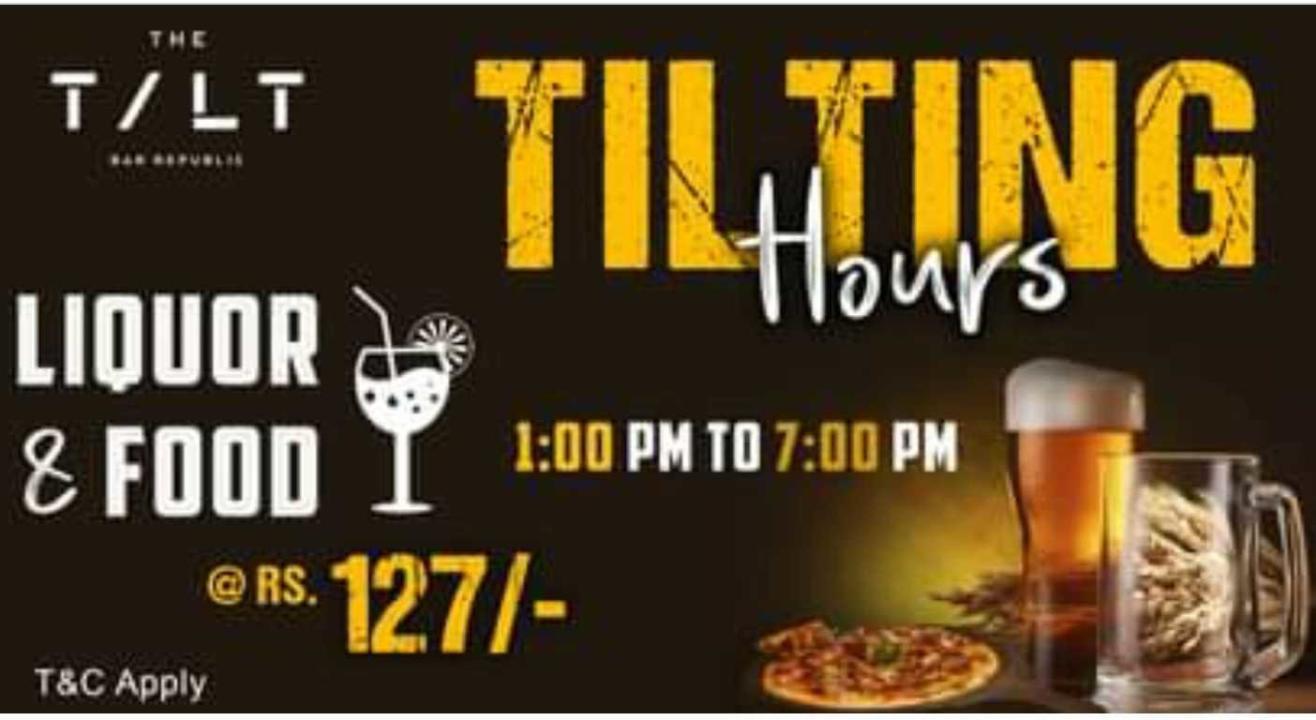 Tilting Hours at TILT Republic Indranagar
