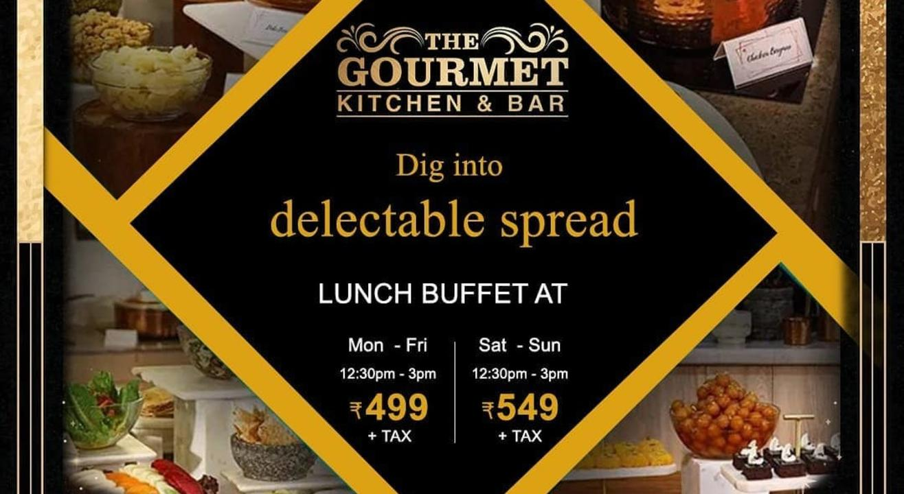 Lunch Buffet at The Gourmet Kitchen and Bar