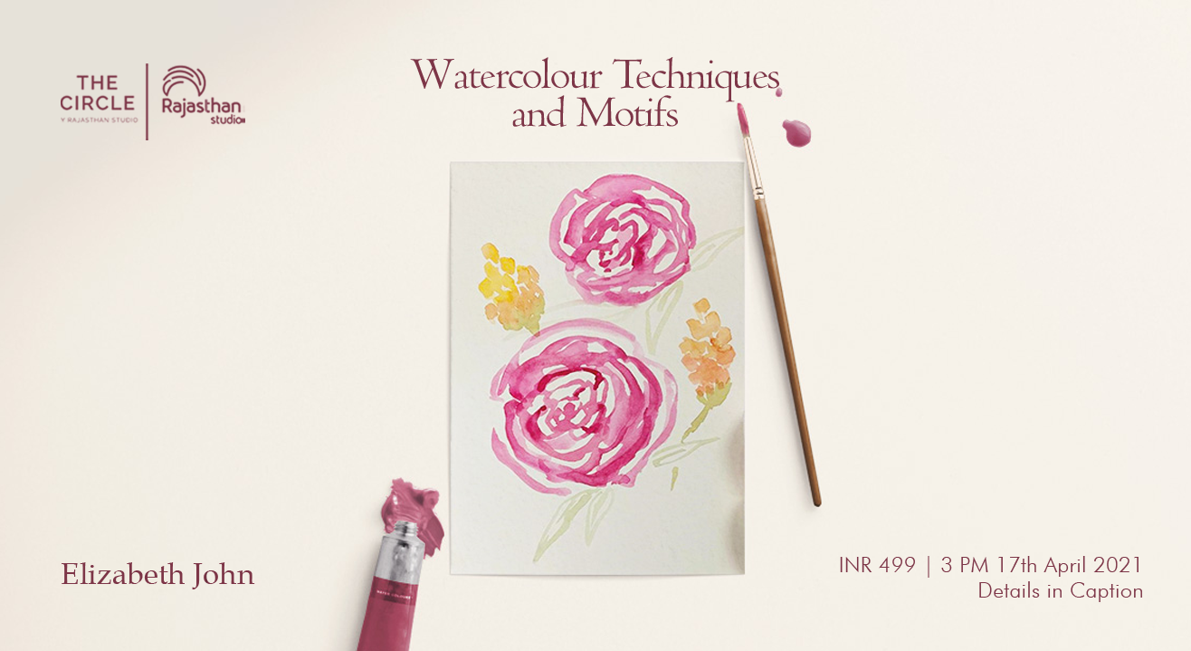 Watercolour Techniques and Motifs Workshop by Rajasthan Studio