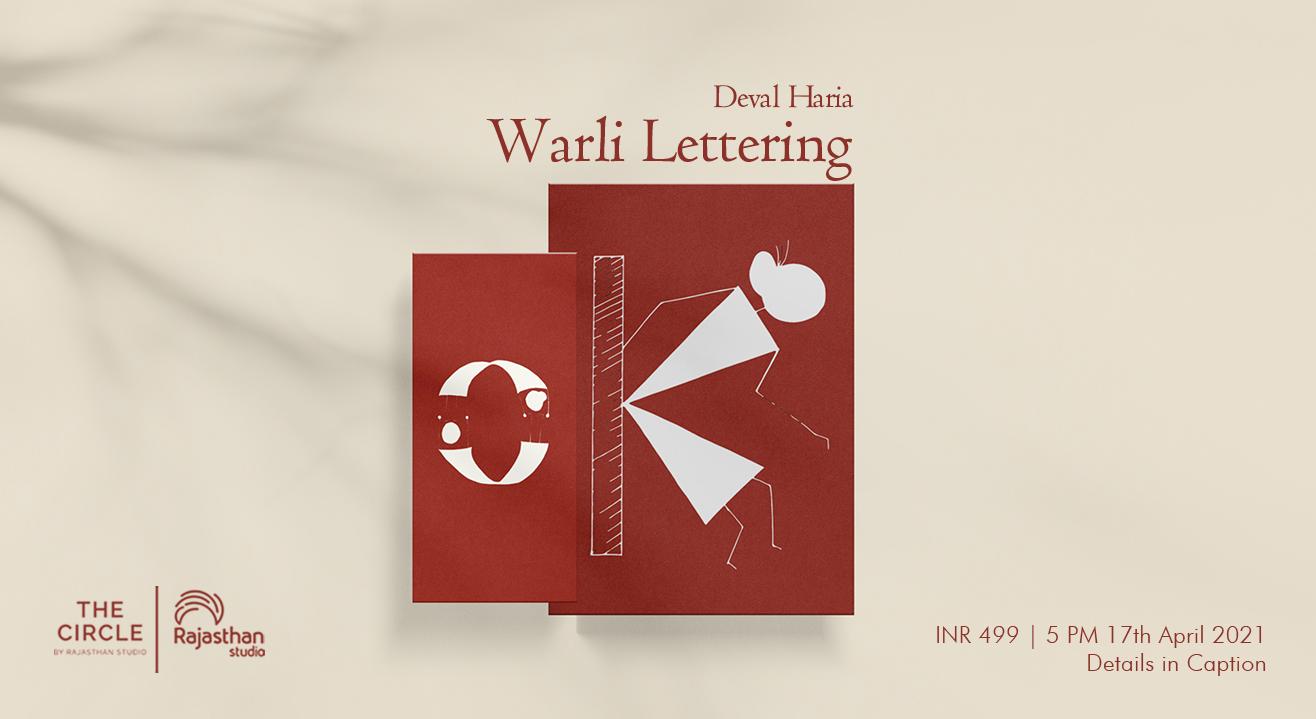 Warli Lettering Workshop by Rajasthan Studio