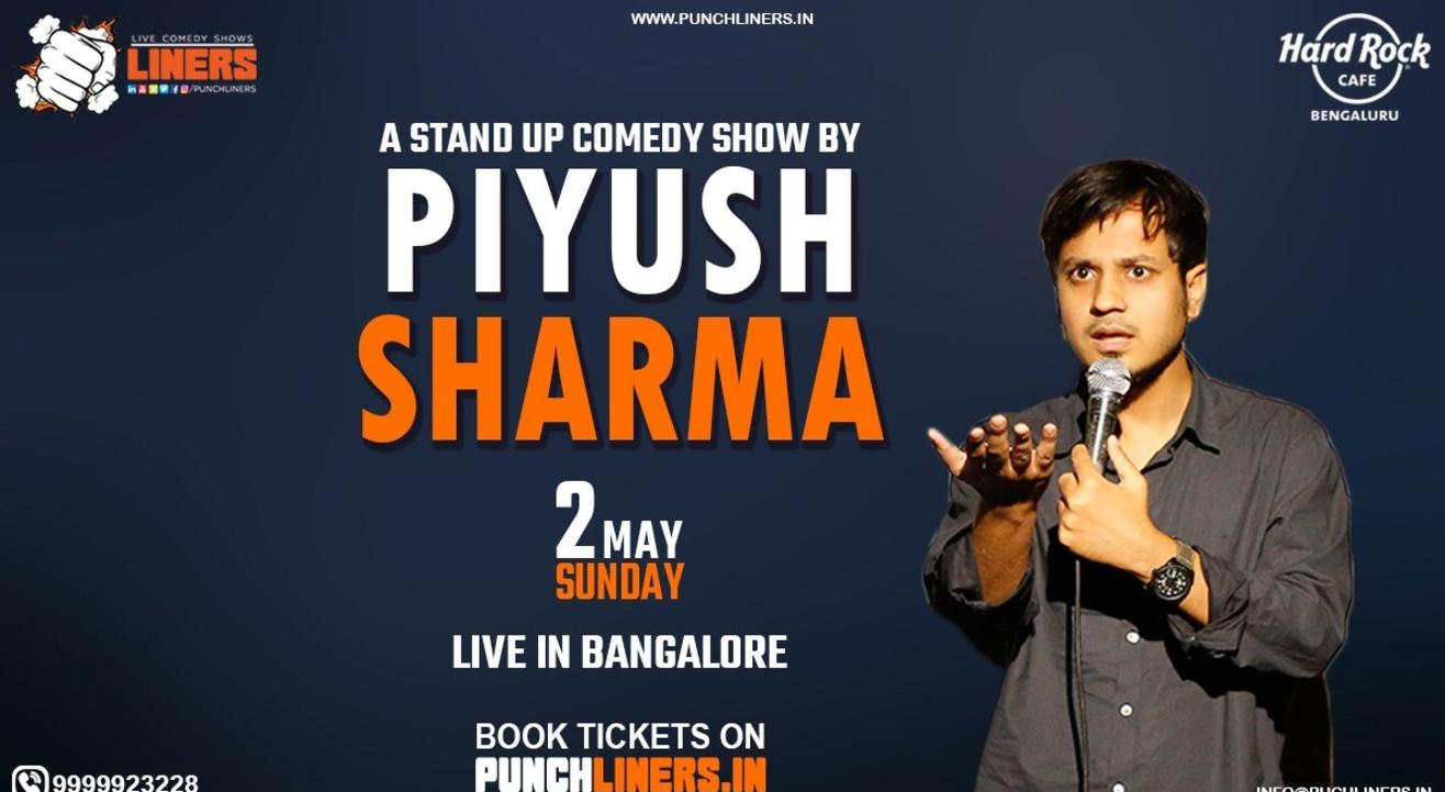 Punchliners Comedy Show Ft. Piyush Sharma in Bangalore Whitefield