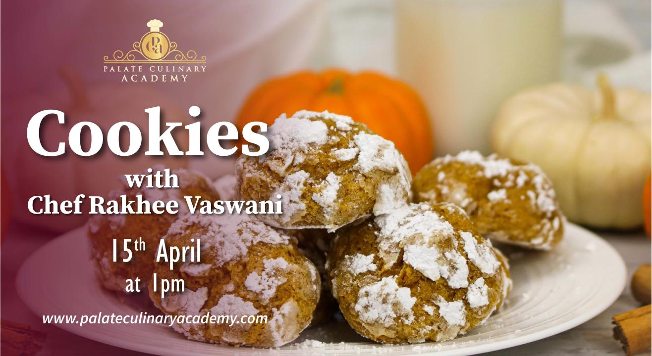 Cookies with Rakhee Vaswani