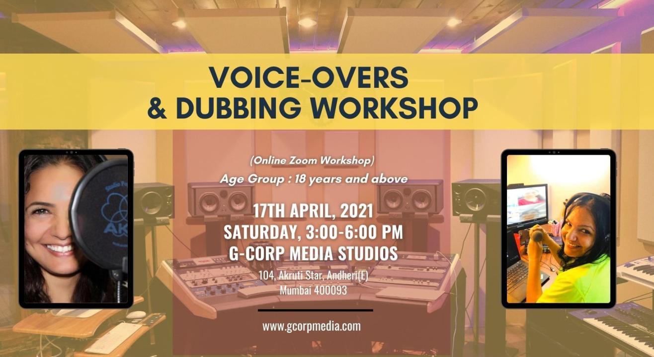 Online Voice over & Dubbing Workshop