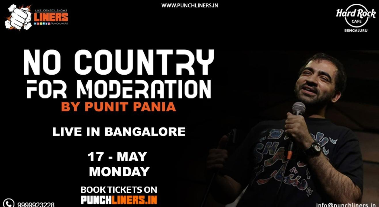 Punchliners Comedy Show Ft. Punit Pania in Bangalore