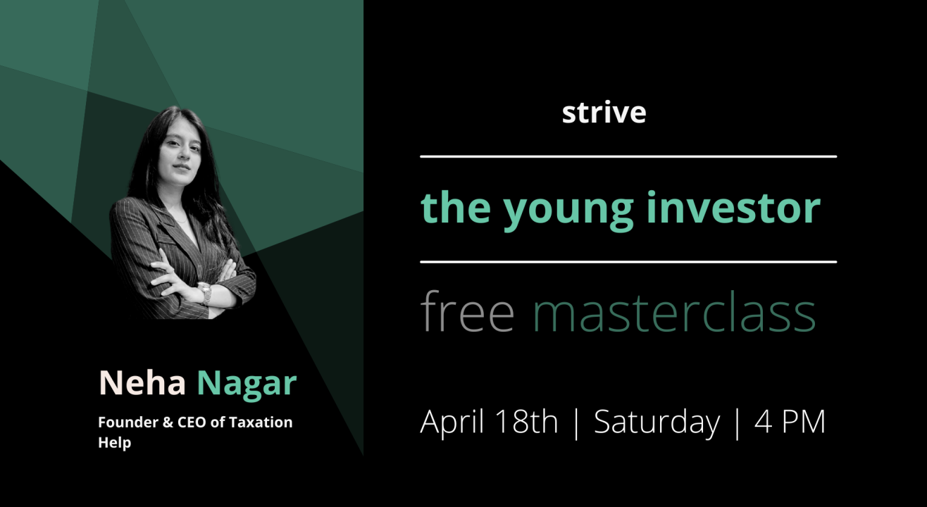 The Young Investor Masterclass with Neha Nagar