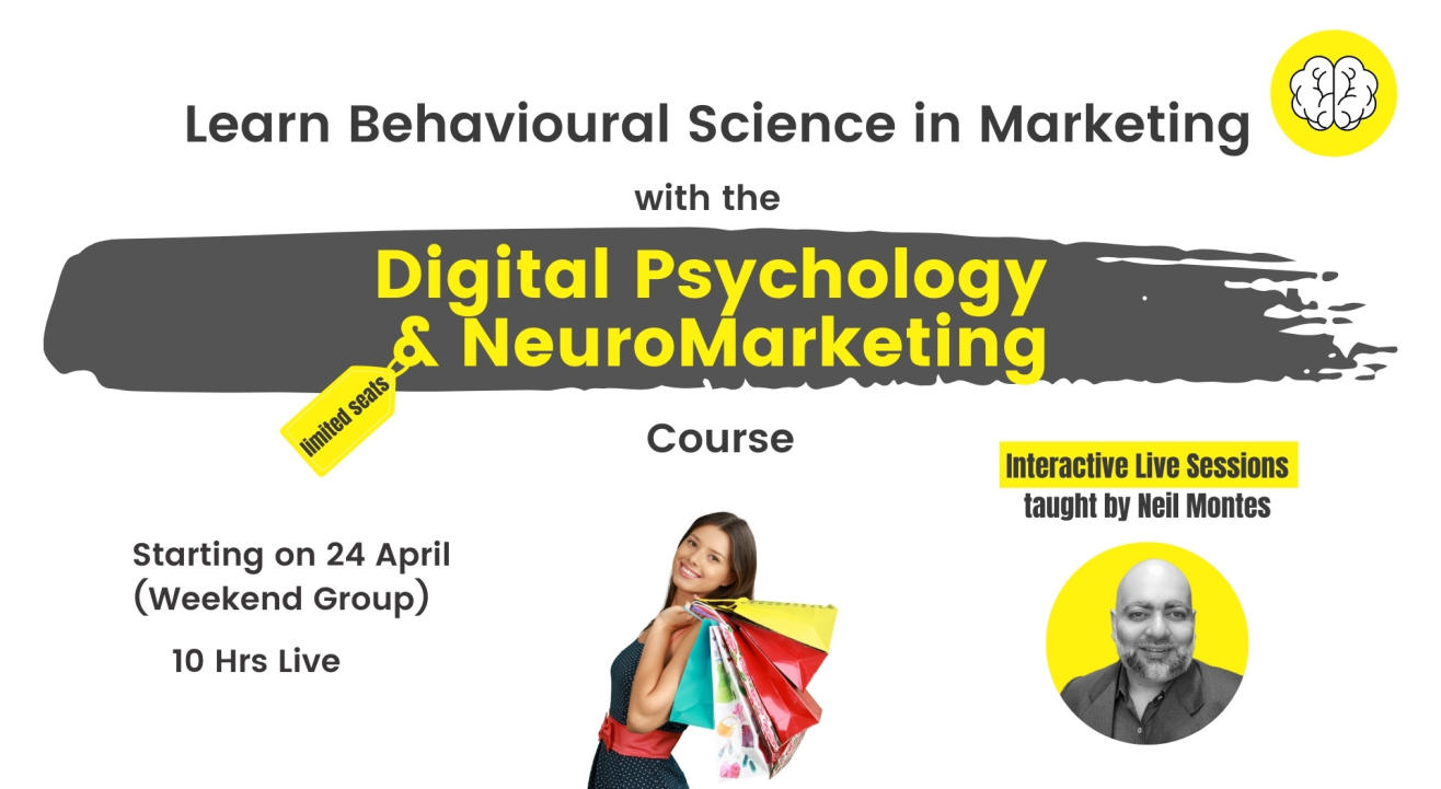 Digital Psychology and NeuroMarketing Course - Learn The Psychology of Marketing