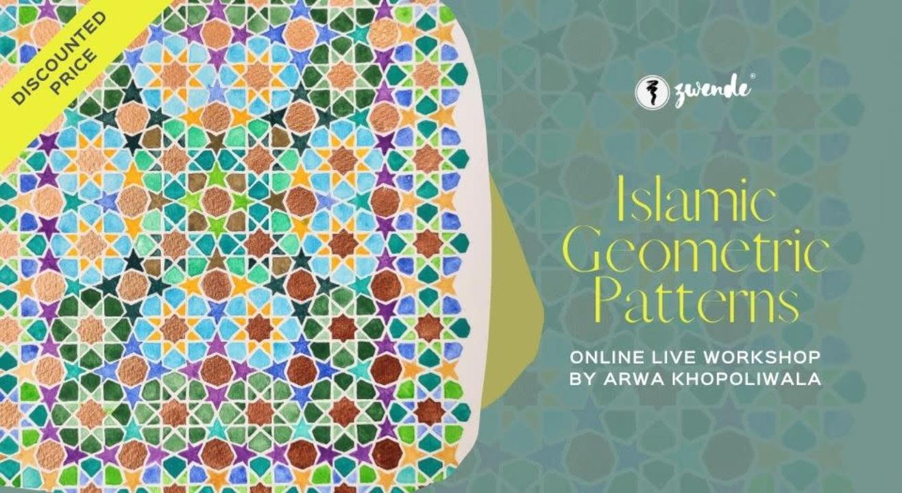 Islamic Geometric Patterns [2 Day Online Live Workshop]
