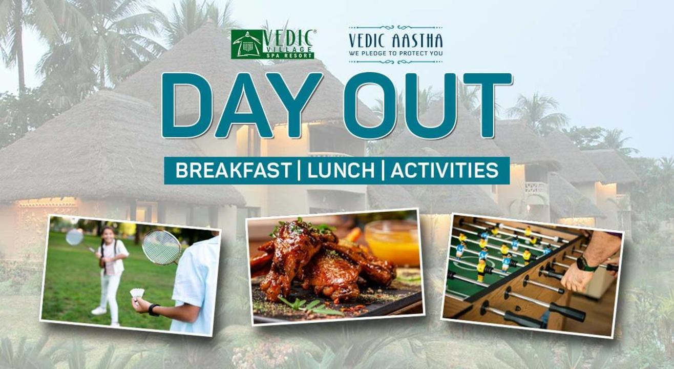 Day Outing at Vedic Village Spa & Resort