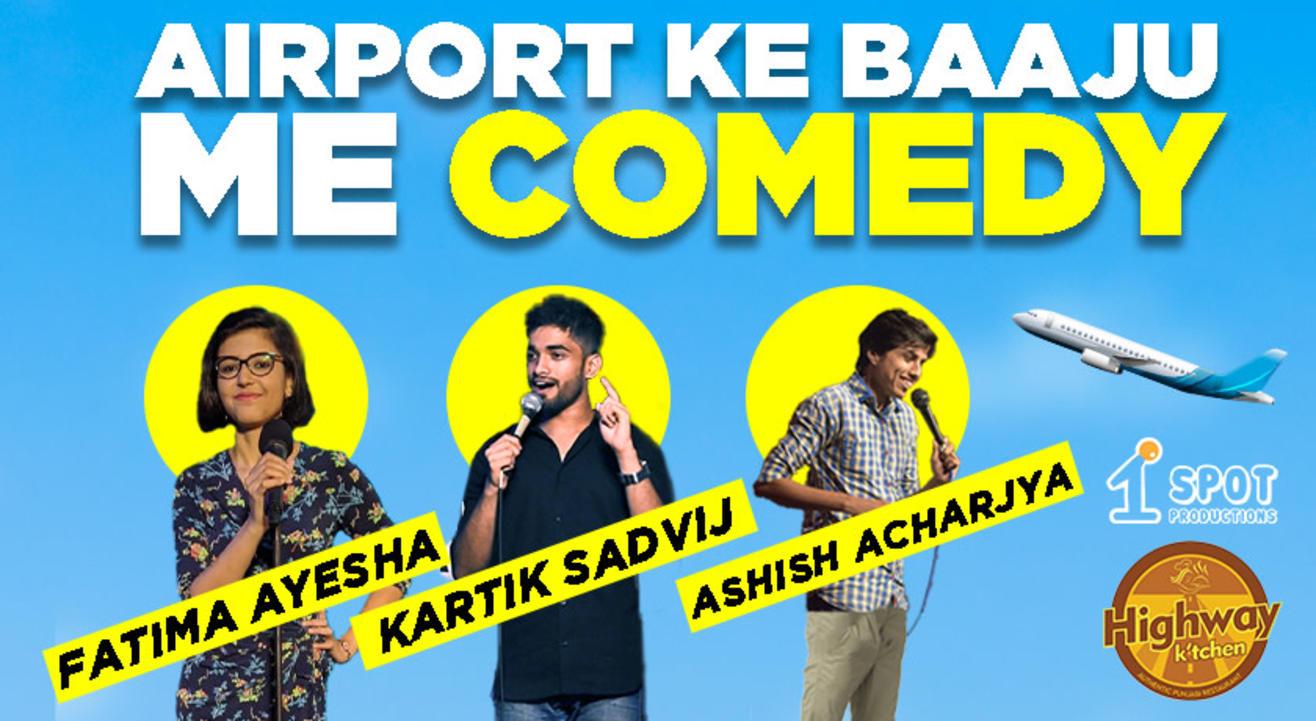 Airport Ke Baaju Me Comedy