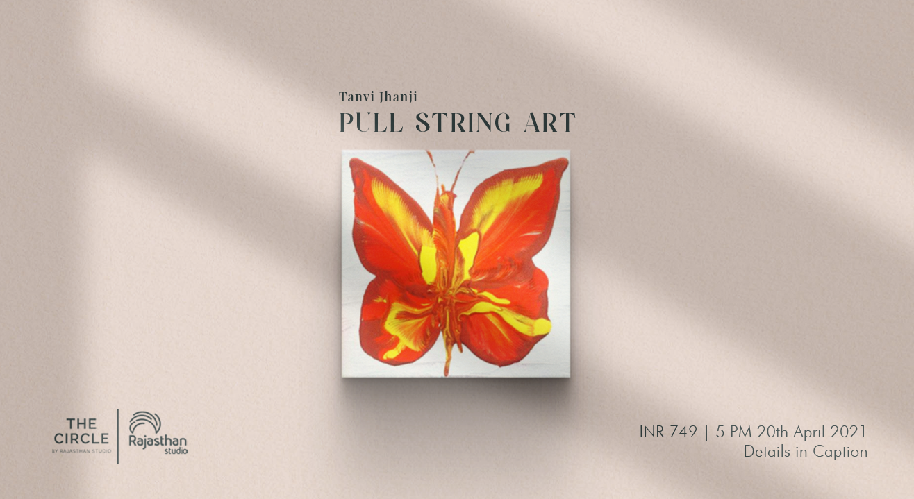 Pull String Art Workshop by The Circle Community