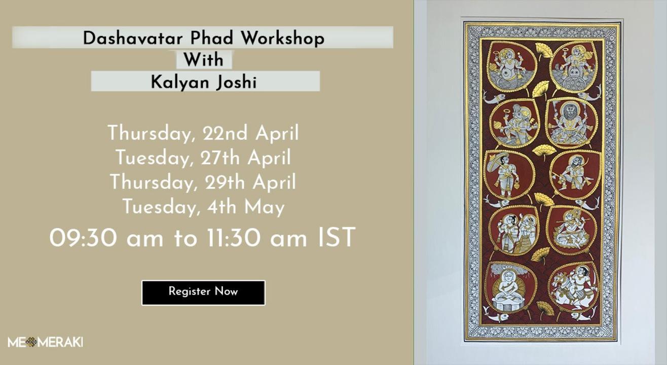 ONLINE PHAD MASTERCLASS WITH KALYAN JOSHI