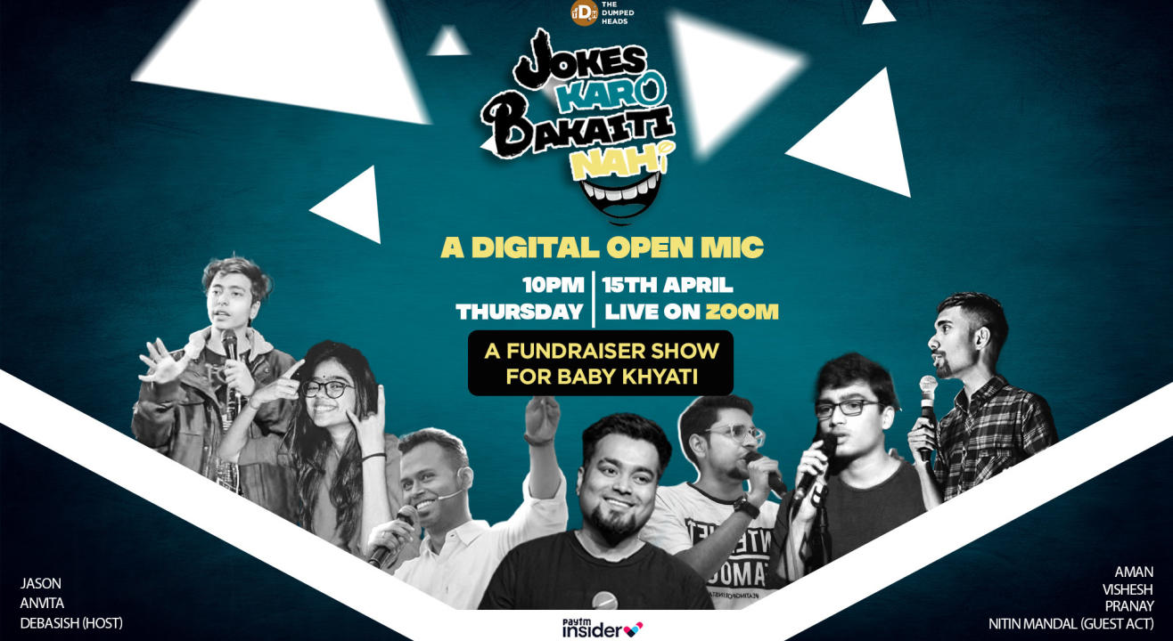 Jokes Karo Bakaiti Nahi FT. Nitin Mandal (A Fundraiser Show for Baby Khyati)