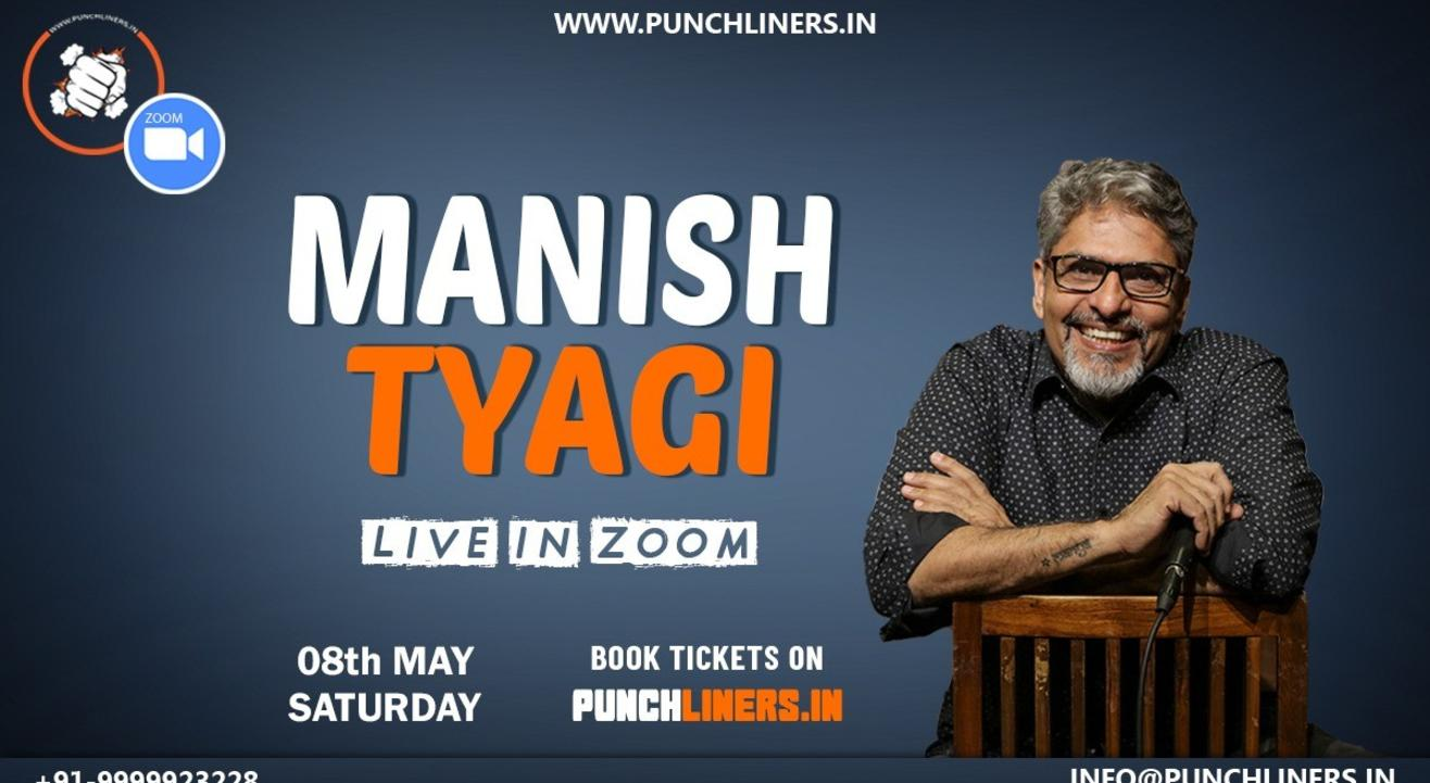 Punchliners Comedy Show ft Manish Tyagi on Zoom