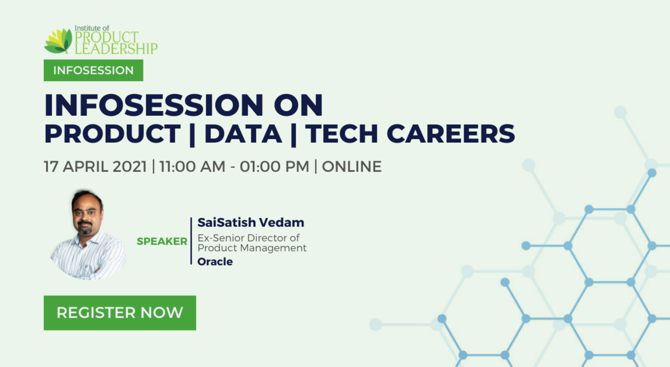 Infosession on Product | Tech | Data Careers