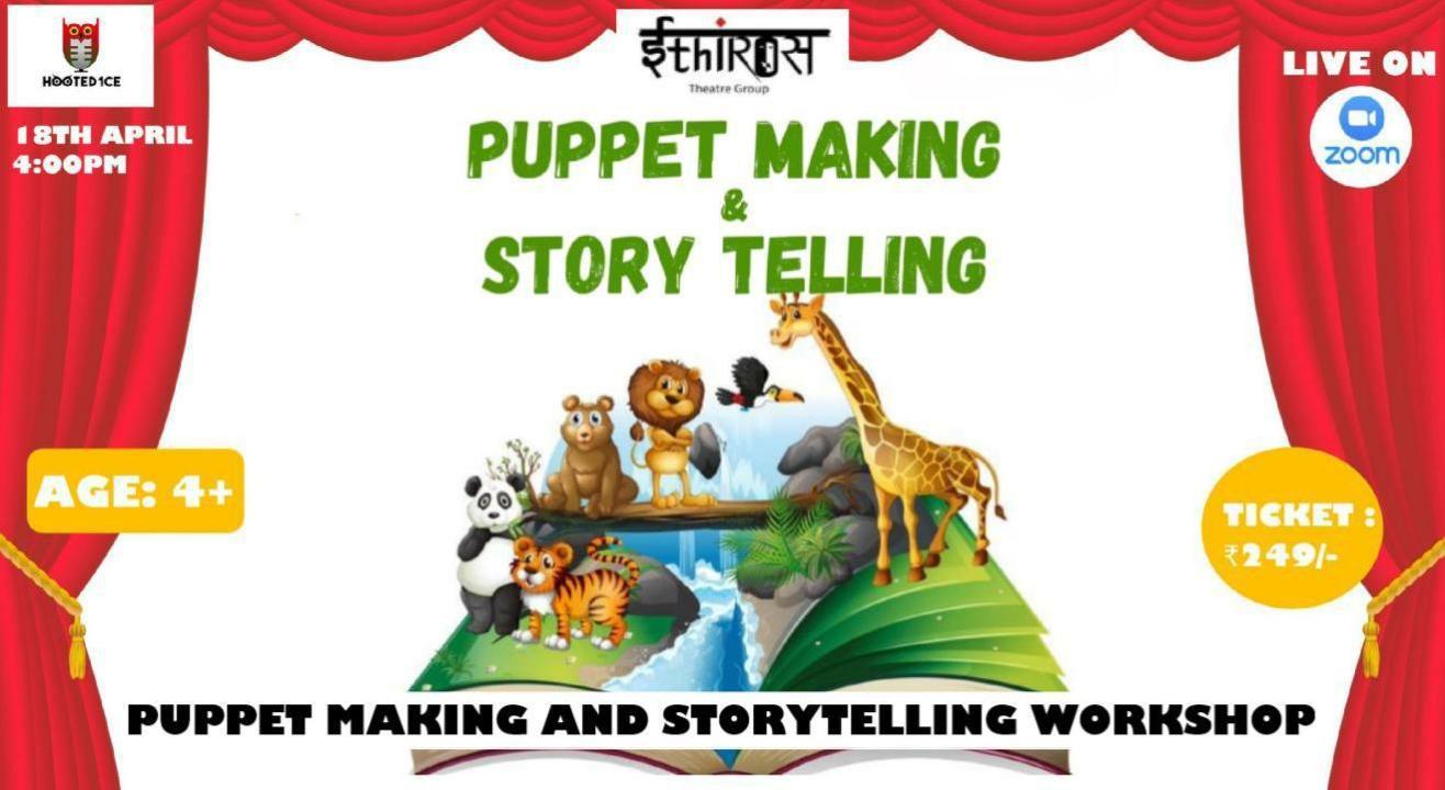 Puppet Making Workshop/ Storytelling