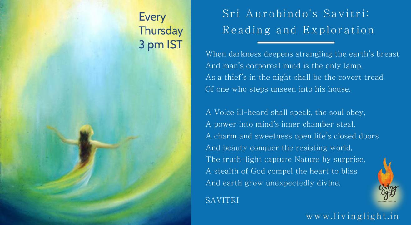 Savitri (Sri Aurobindo's) Study Circle