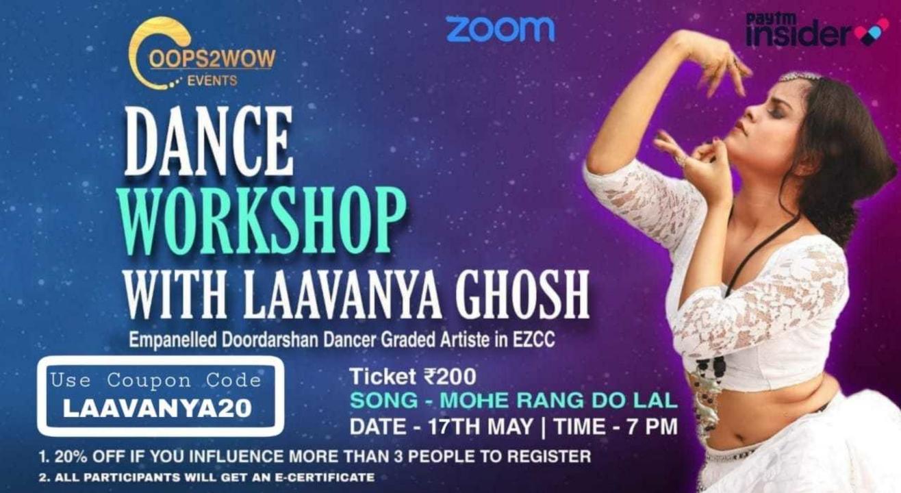 Dance Workshop With Laavanya Ghosh