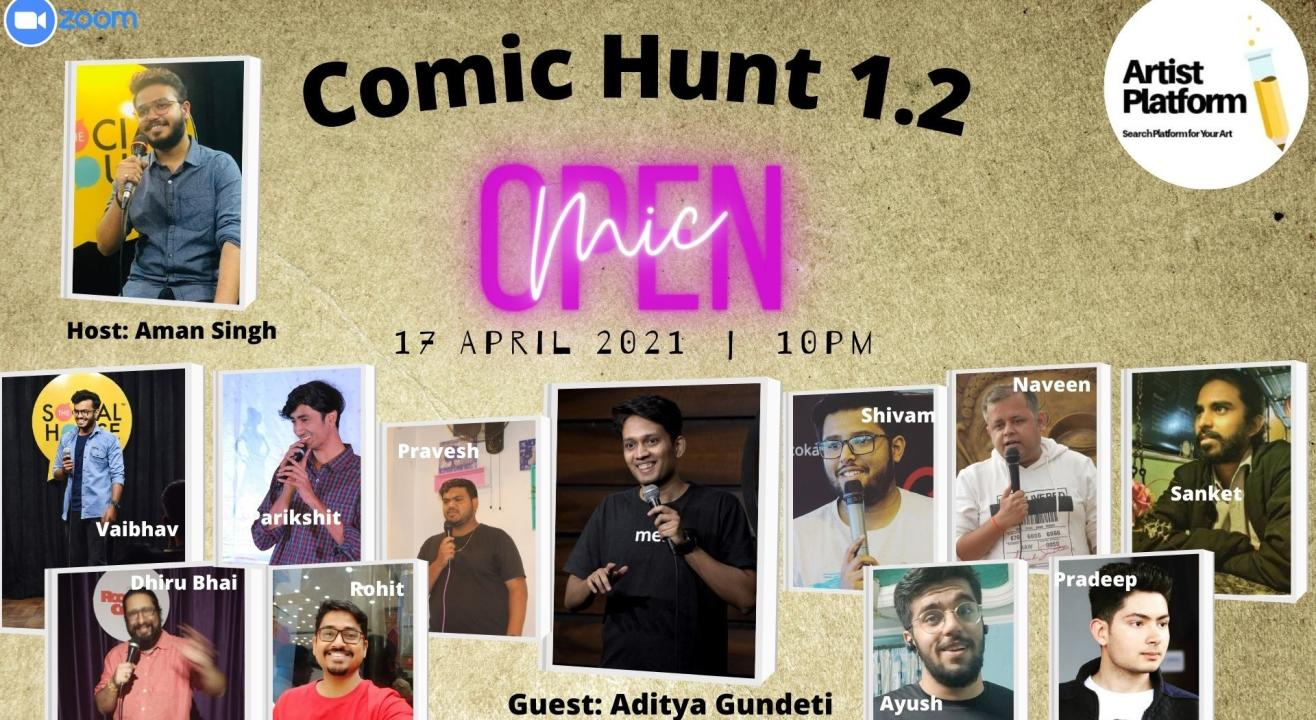 Comic Hunt 1.2 - Competative Stand Up Comedy Show