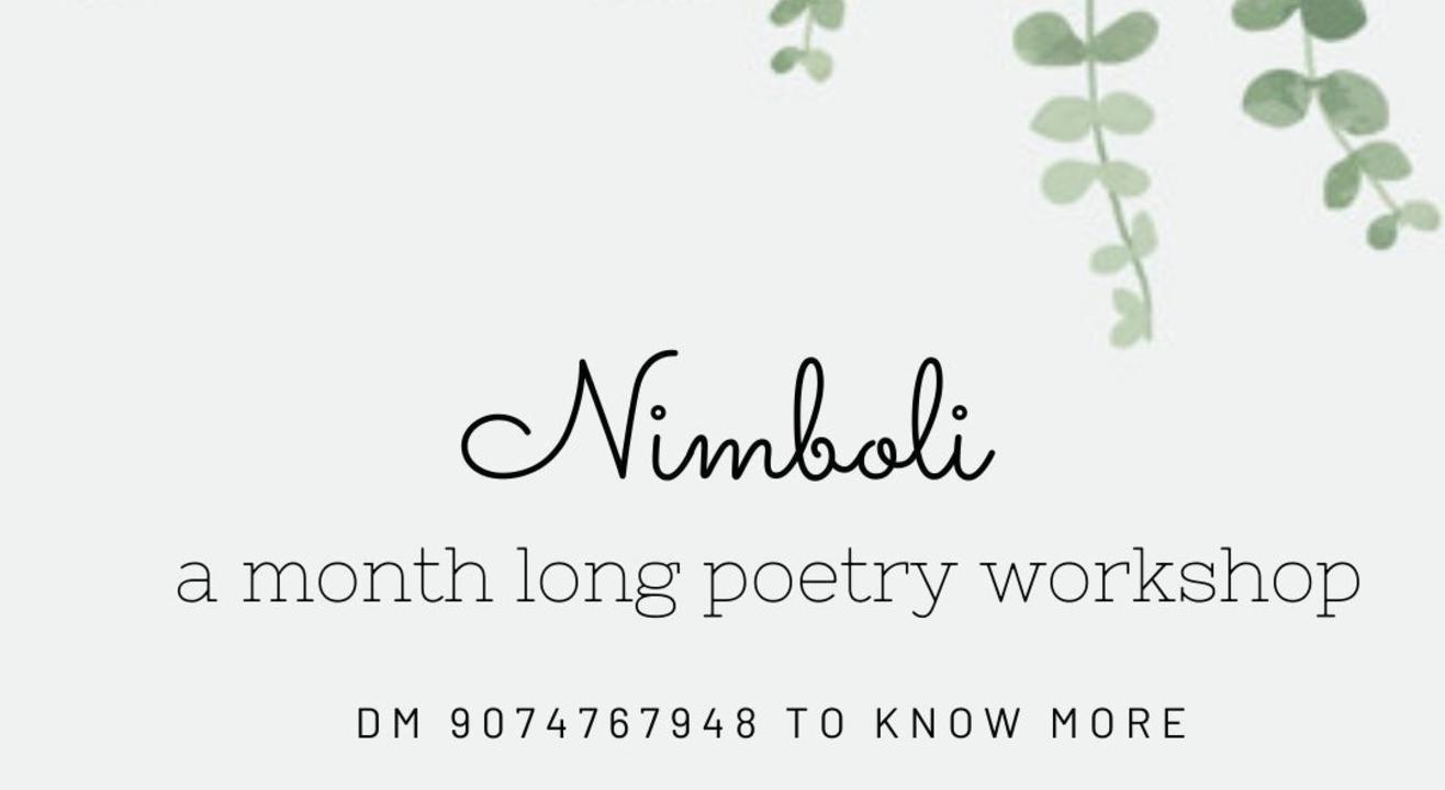 Nimboli - Understating the craft of poetry.