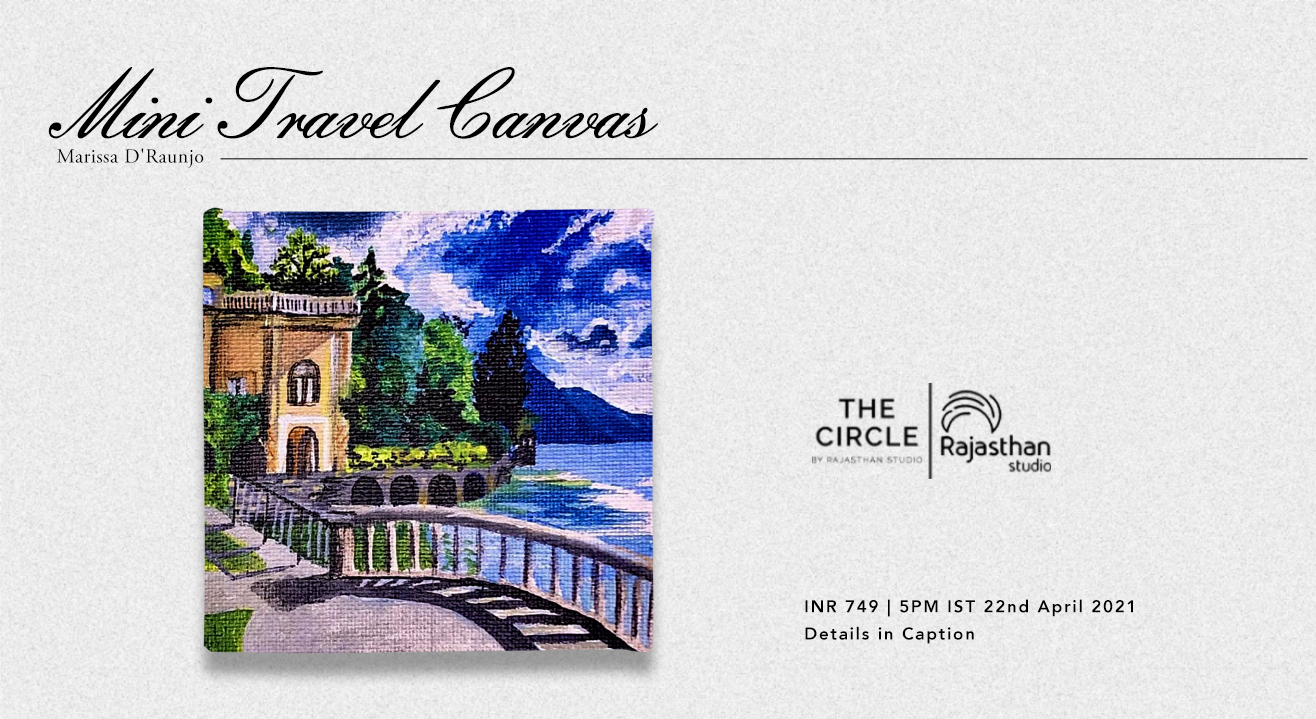 Mini Travel Canvas Workshop by The Circle Community