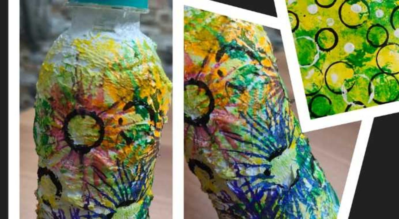 Learn Tissue Paper Painting