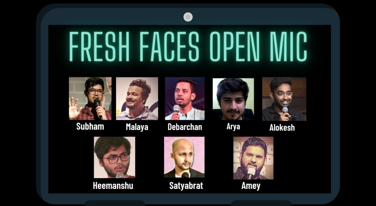 Fresh Faces - Stand-up Comedy Open Mic 2.0