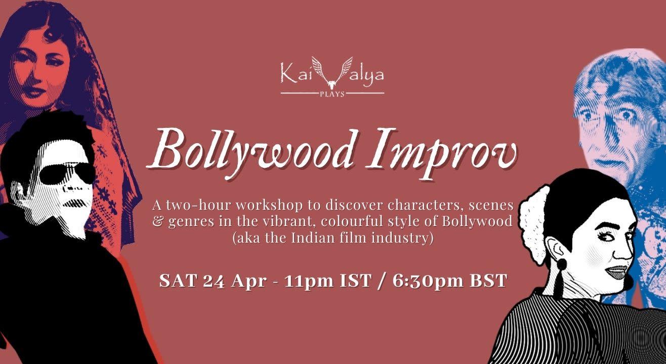 Bollywood Improv - Online Improv Theatre Workshop