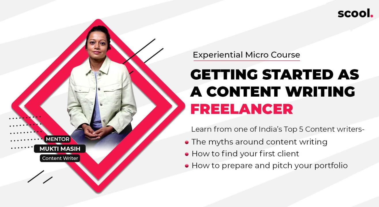 Workshop: Getting Started as a Content Writing Freelancer by Scool