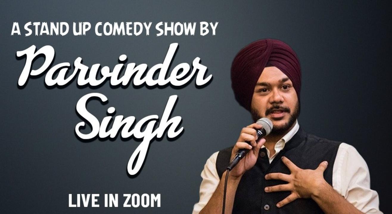Punchliners Comedy Show Ft Parvinder Singh on Zoom