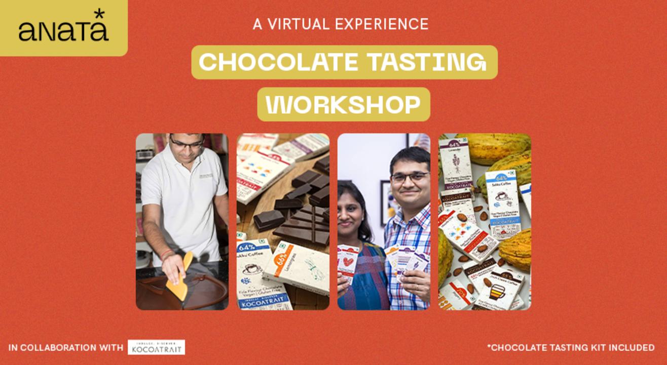 Virtual Chocolate Tasting Experience