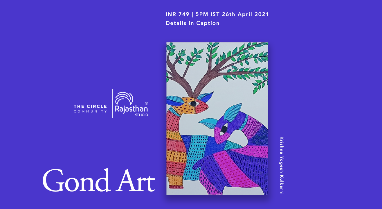 Gond Art Workshop by The Circle Community