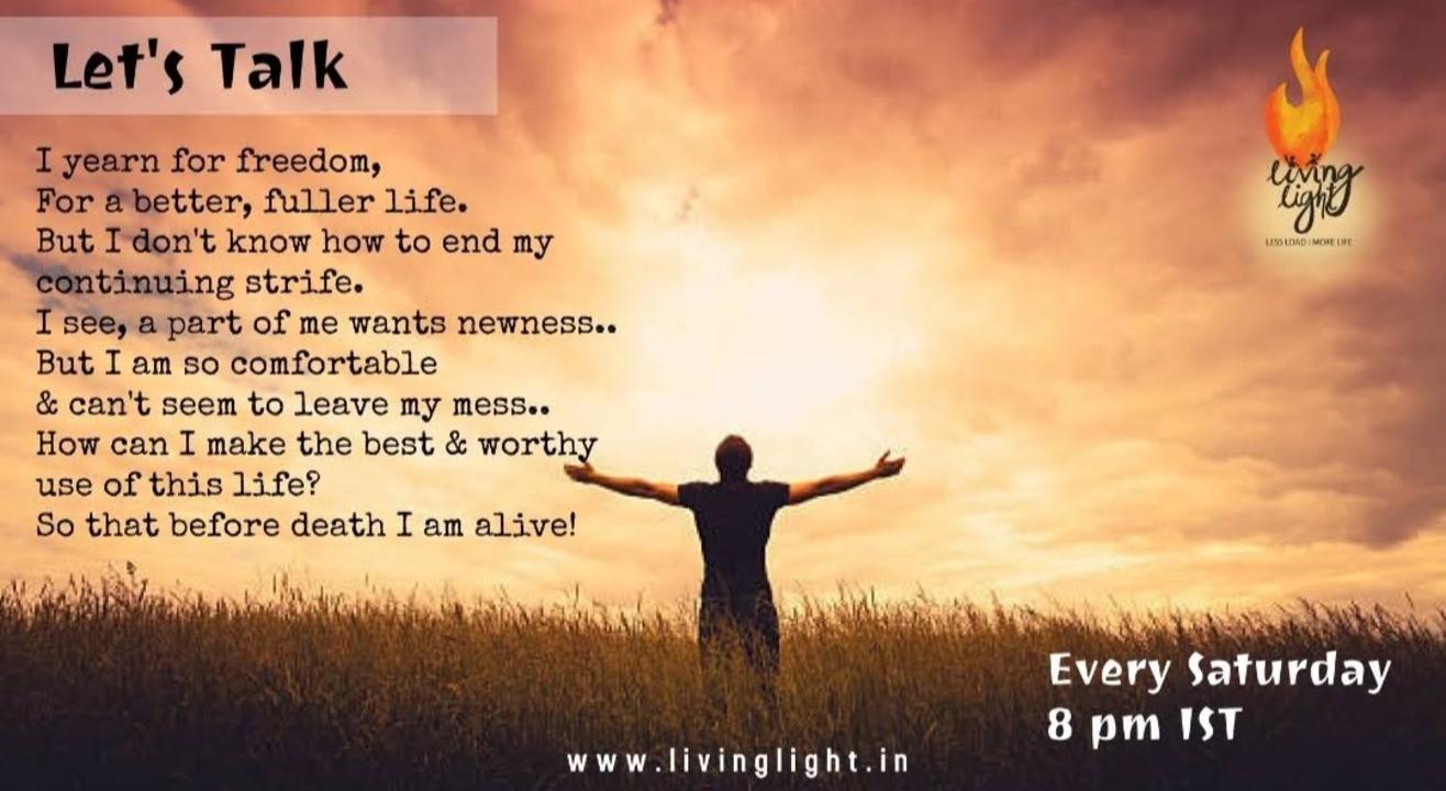 Living Light - Let's talk