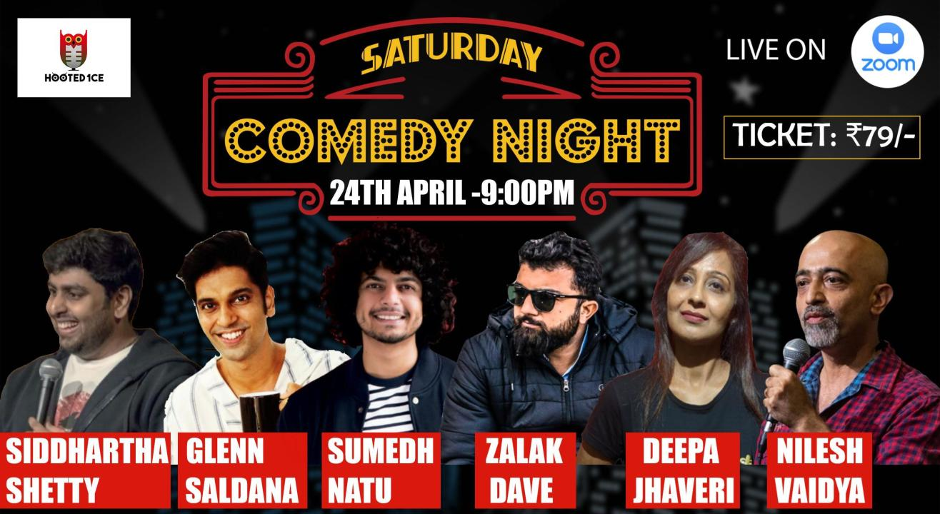 Saturday Comedy Night