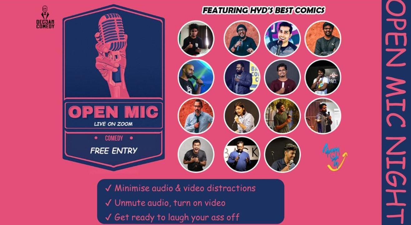 Open mic ft. Hyderabad Comedy Scene